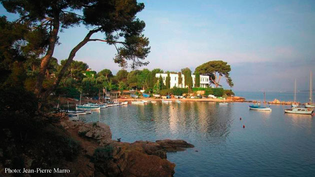 Cap d'Antibes, port