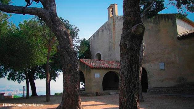 La Garoupe chapel, Cap d'Antibes