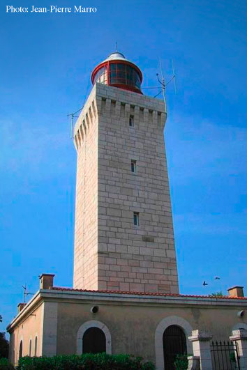 La Garoupe lighthouse, Cap d'Antibes